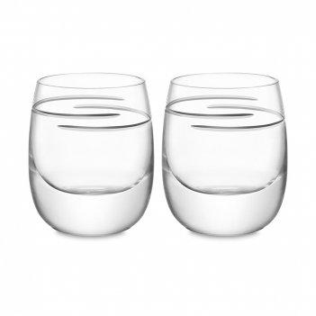 Набор из 2-х стаканов для виски signature verso, объем: 275 мл, материал: