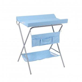 Пеленальный столик фея, цвет голубой