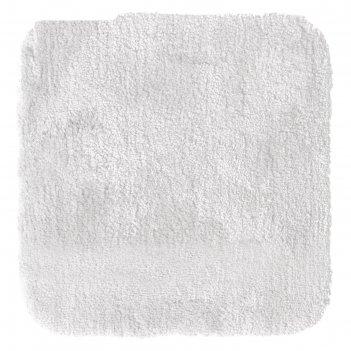Коврик для ванной комнаты chic, цвет белый, 55х50 см
