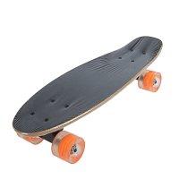Скейтборд s711, размер 57x15,5 см, колеса светящиеся pu d= 57*45 мм, алюми