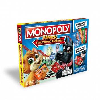 Настольная игра hasbro gaming e1842121 монополия джуниор с банковскими кар