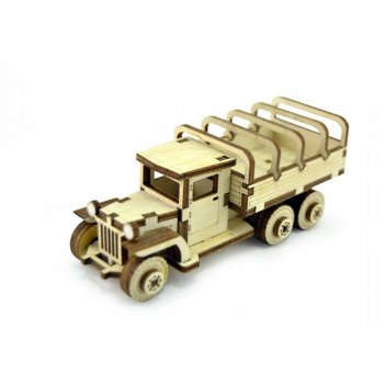 Конструктор lemmo советский грузовик зис-5вп зис-4/лт-4