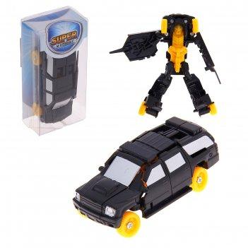 Машина-трансформер робот, микс