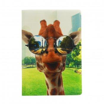Обложка для паспорта жираф