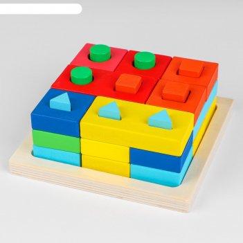 Пирамидка по методике м. монтессори