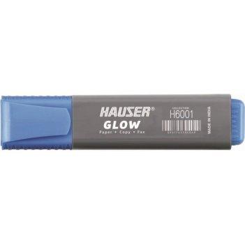Текстовыделитель hauser glow, цвет синий