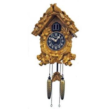 Настенные часы с кукушкой sinix 685b