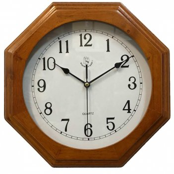 Деревянные настенные часы  7119 (05)
