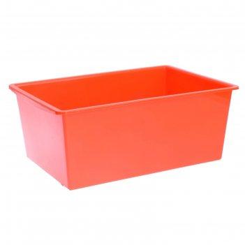 Ящик универсальный, объём 30 л, цвет оранжевый