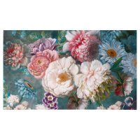 Картина на холсте цветочная поляна 60х100 см