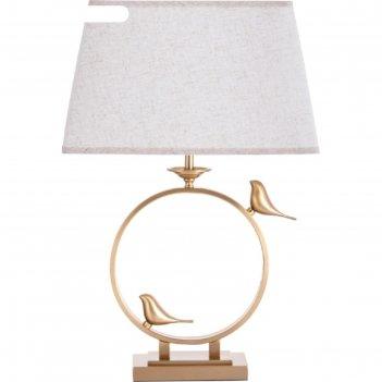 Настольная лампа rizzi, 60вт e27, цвет медь