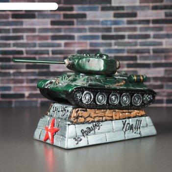 Копилка танк т-34 зелёная