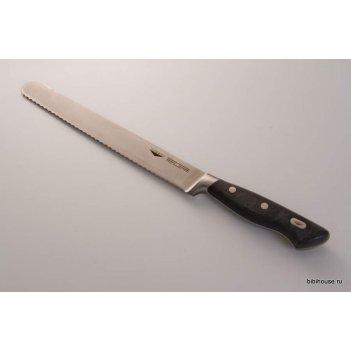 Нож для нарезки хлеба падерно 24см.