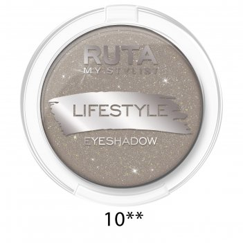 Тени для век ruta lifestyle, тон 10, дымчатый кварц