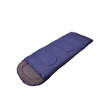 Спальный мешок сп3xxl цвет синий,200+35х85, мин -5с