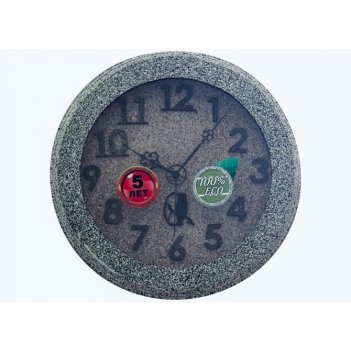 Часы настенные d30-313-камень