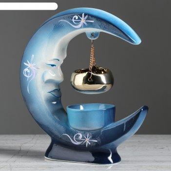 Аромалампа месяц новая синяя
