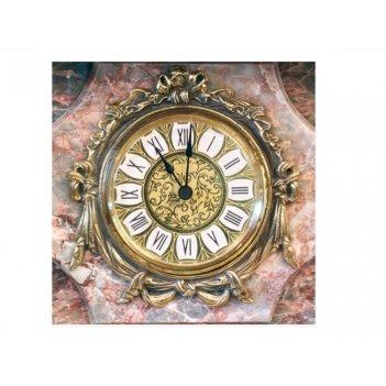 Часы-сейф георгий победоносец из мрамора (арт.с-007)