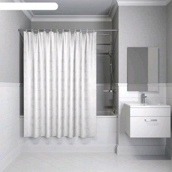Штора для ванной комнаты iddis b56p118i11, 180x180 см, полиэстер