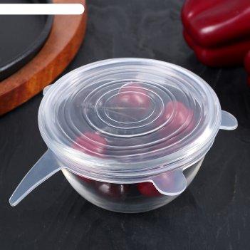 Крышка универсальная для хранения продуктов 10 см черепашка
