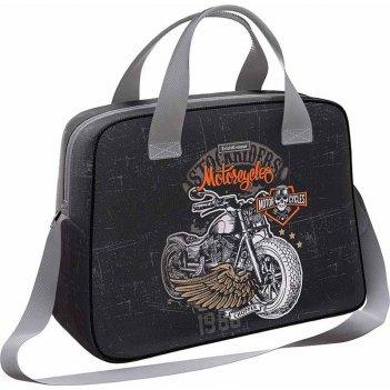 Сумка 44763 для спорта и путешествий erichkrause 21 l motostyle черная