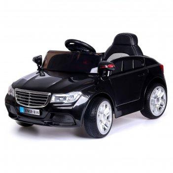 Электромобиль «престиж», 2 мотора, активная подвеска, цвет черный