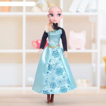 Кукла музыкальная сказочная принцесса, 45 см, микс
