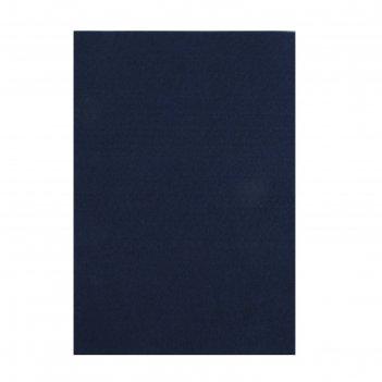 Фетр soft 2мм, 21*29,7 см (набор10 листов) полуночно-синий flt-s2-32