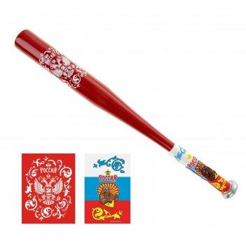 Бита с резиновой ручкой россия 59 см