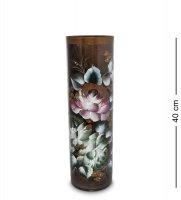 Vz-518 ваза стеклянная жостово h-400/120 (цилиндр)