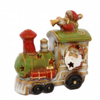 Фигурка декоративная поезд, l12,5 w7 h12 см