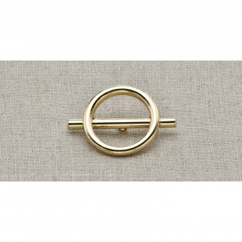 Пуговица металлическая, цвет золото (пм26)