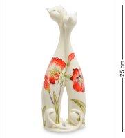 Jp-155/ 8 ваза парочка кошек (pavone)