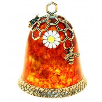 Колокольчик медовый (металл - ювелирная бронза)