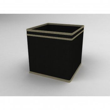 Коробка - куб жёсткая «классик чёрный», 27х27х27 см