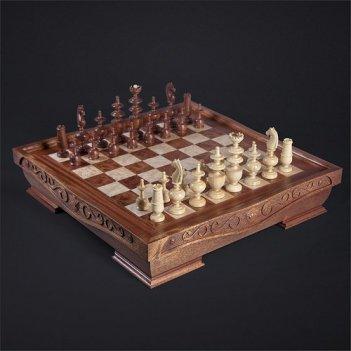 Шахматы режанс красное дерево kadun