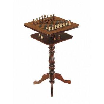 Шахматный столик квадратный, арт.136