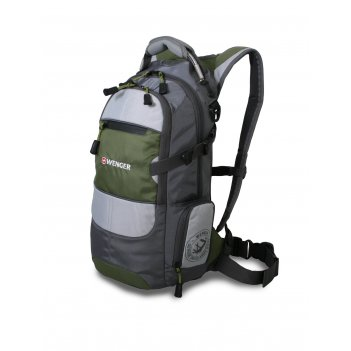 13024415 рюкзак wenger «narrow hiking pack» цв  серый/серебр