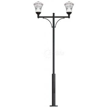 Стальной фонарный столб монреаль 2 мод. 14 2,5 м.
