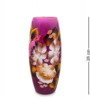 Vz-583 ваза стеклянная жостово h-260