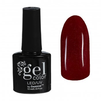 Гель-лак для ногтей трёхфазный led/uv, с блёстками, 10мл, цвет в2-090 борд