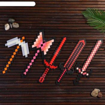 Набор деревянных сувениров оружие воина