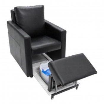 Педикюрное спа-кресло комфорт, цвет чёрный