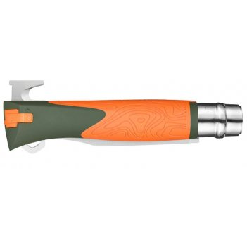 Нож складной opinel №12 vri  explore kaki/orange