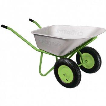Тачка садово-строительная, 2-х колесная, грузоподъемность 320 кг, объем 10