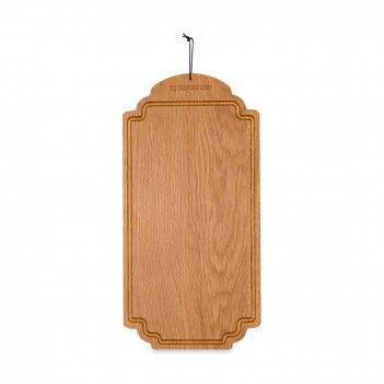 Доска разделочная, размер: 38 х 19 см, материал: дуб, серия breakfast, b55