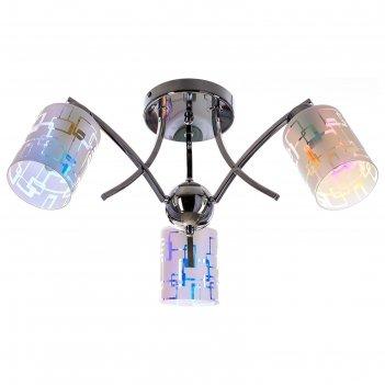 Люстра модерн гортензия 3 лампы (220v 60w e27)