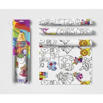 Раскраска мозаика-синтез v079650 скатерть buttenfilm детская раскраска