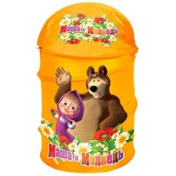 Корзина для игрушек маша и медведь xdr-1792-r/175179