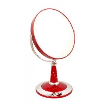 Зеркало b7 809 ruby/c red наст. кругл. 2-стор. 5-кр.ув.18 см